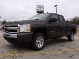 2010 Taupe Gray Metallic Chevrolet Silverado 1500 LS Extended Cab #26258420