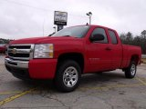 2010 Victory Red Chevrolet Silverado 1500 LS Extended Cab #26258421