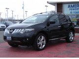 2009 Super Black Nissan Murano LE AWD #26258302