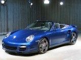 2008 Cobalt Blue Metallic Porsche 911 Turbo Cabriolet #26307238