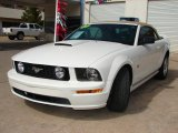 2007 Performance White Ford Mustang GT Premium Convertible #26307860