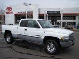 2001 Bright White Dodge Ram 1500 SLT Club Cab 4x4 #26307256