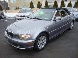 2005 Titanium Silver Metallic BMW 3 Series 325i Convertible #26307557
