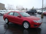 2010 Sangria Red Metallic Ford Fusion SE V6 #26307427