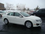2010 White Suede Ford Fusion SE #26307428