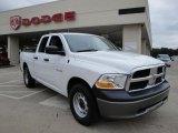 2010 Stone White Dodge Ram 1500 ST Quad Cab 4x4 #26307768
