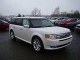 2010 White Platinum Tri-Coat Metallic Ford Flex Limited EcoBoost AWD #26307432