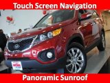 2011 Spicy Red Kia Sorento EX V6 AWD #26307440
