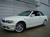 2004 Alpine White BMW 3 Series 325i Convertible #26307305