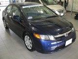2007 Royal Blue Pearl Honda Civic LX Sedan #26307817