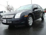 2008 Dark Blue Ink Metallic Ford Fusion S #26307491
