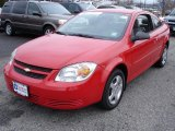 2007 Victory Red Chevrolet Cobalt LS Coupe #26355583