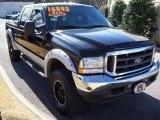 2004 Black Ford F250 Super Duty Lariat Crew Cab 4x4 #26355433