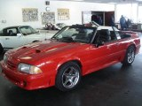 1988 Ford Mustang Bright Red