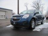 2010 Navy Blue Metallic Chevrolet Equinox LS #26355918