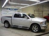 2009 Bright Silver Metallic Dodge Ram 1500 Laramie Crew Cab 4x4 #26355608
