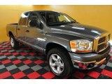2006 Mineral Gray Metallic Dodge Ram 1500 SLT Quad Cab 4x4 #26355794