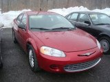 2002 Dark Garnet Red Pearl Chrysler Sebring LX Sedan #26355631