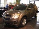 2010 Mocha Steel Metallic Chevrolet Equinox LT #26355511