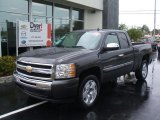 2010 Taupe Gray Metallic Chevrolet Silverado 1500 LT Extended Cab #26355513