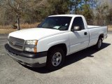 2003 Summit White Chevrolet Silverado 1500 Regular Cab #26355978
