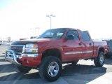 2005 Fire Red GMC Sierra 1500 Z71 Crew Cab 4x4 #26355874