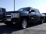 2010 Black Granite Metallic Chevrolet Silverado 1500 LT Crew Cab #26355692