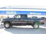 2003 Black Chevrolet Silverado 2500HD LS Extended Cab 4x4 #26355875