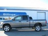 2007 Mineral Gray Metallic Dodge Ram 1500 SLT Quad Cab 4x4 #26355886