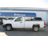 2008 Summit White Chevrolet Silverado 1500 Work Truck Regular Cab #26355890