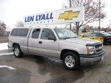 2005 Silver Birch Metallic Chevrolet Silverado 1500 LT Extended Cab #26355555