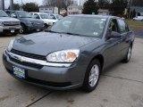 2005 Medium Gray Metallic Chevrolet Malibu LS V6 Sedan #26355581