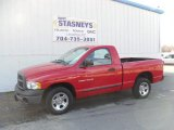 2005 Flame Red Dodge Ram 1500 ST Regular Cab #26399427