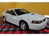 2002 Oxford White Ford Mustang V6 Coupe #26399295