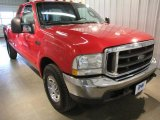 2003 Red Clearcoat Ford F250 Super Duty XLT SuperCab #26399314