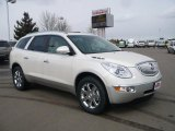 2010 White Diamond Tricoat Buick Enclave CXL AWD #26399042