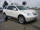 2010 White Diamond Tricoat Buick Enclave CXL AWD #26399046