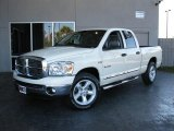 2008 Cool Vanilla White Dodge Ram 1500 Lone Star Edition Quad Cab #26399066