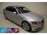 2008 Titanium Silver Metallic BMW 3 Series 335i Sedan #26399207