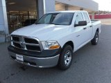 2010 Stone White Dodge Ram 1500 ST Quad Cab #26399405