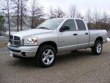 2008 Bright Silver Metallic Dodge Ram 1500 Big Horn Edition Quad Cab 4x4 #26437087