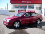 2008 Redfire Metallic Ford Fusion SEL V6 #26436904