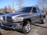 2006 Mineral Gray Metallic Dodge Ram 1500 SLT Quad Cab 4x4 #26437131