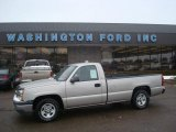 2004 Silver Birch Metallic Chevrolet Silverado 1500 Regular Cab #26437010