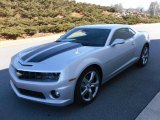 2010 Silver Ice Metallic Chevrolet Camaro SS/RS Coupe #26454317