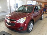 2010 Cardinal Red Metallic Chevrolet Equinox LS #26454333