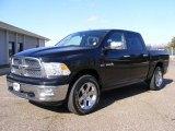 2009 Brilliant Black Crystal Pearl Dodge Ram 1500 Laramie Crew Cab 4x4 #26460463