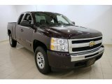 2009 Dark Cherry Red Metallic Chevrolet Silverado 1500 LT Extended Cab 4x4 #26460492