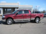 2006 Dark Toreador Red Metallic Ford F150 XLT SuperCrew 4x4 #26460350