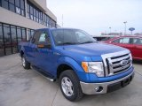 2010 Blue Flame Metallic Ford F150 XLT SuperCab #26460532